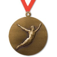 1.5 Inch Diving Medal Male