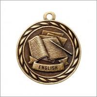 "2"" Scholastic Medal ENGLISH"
