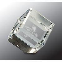 "2"" x 2"" Crystal Cube"