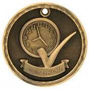 Perfect Attendance Medals