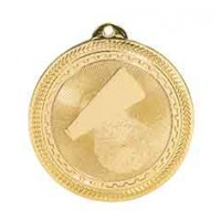 2 inch  Cheer Laserable BriteLazer Medal