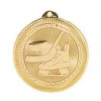 2 inch Hockey Laserable BriteLazer Medal