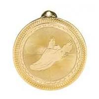 2 inch Track Laserable BriteLazer Medal