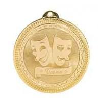 2 inch Drama Laserable BriteLazer Medal