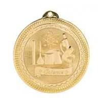 2 inch Science Laserable BriteLazer Medal