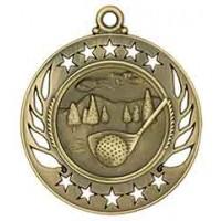 2 1/4 inch Golf Galaxy Medal