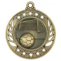 2 1/4 inch Soccer Galaxy Medal