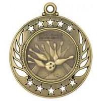2 1/4 inch Bowling Galaxy Medal