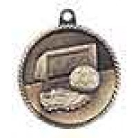 2 inch Soccer High Relief Medal