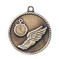 2 inch Track High Relief Medal