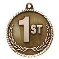 2 inch 1st Place High Relief Medal
