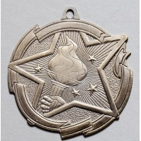 2 3/8 Inch Victory Star Medal