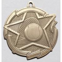 2 3/8 Inch Tennis Star Medal