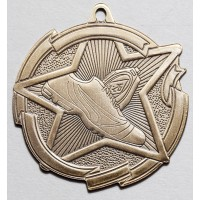 2 3/8 Inch Track Star Medal