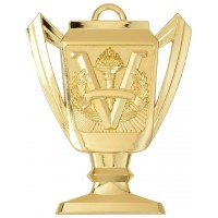 2 3/4 VICTORY TROPHY CUP MEDAL