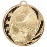 2 inch Swimming Laserable MidNite Star Medal