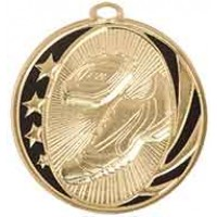2 inch Track Laserable MidNite Star Medal