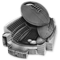 2 1/2'' STADIUM FOOTBALL MEDAL (S)