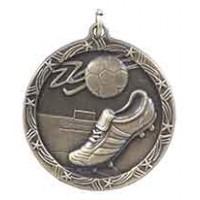 1 3/4 inch Soccer Shooting Star Medal