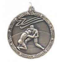1 3/4 inch Wrestling Shooting Star Medal