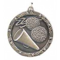 1 3/4 inch Cheerleading Shooting Star Medal