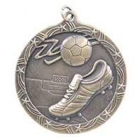2 1/2 inch Soccer Shooting Star Medal