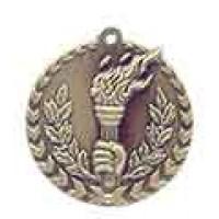 1 3/4 inch Torch Millennium Medal