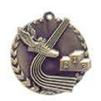 1 3/4 inch Track Millennium Medal