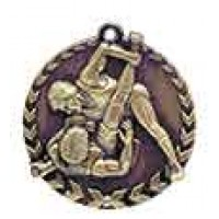 1 3/4 inch Wrestling Millennium Medal