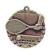 1 3/4 inch Tennis Millennium Medal