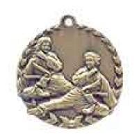 1 3/4 inch Karate Millennium Medal