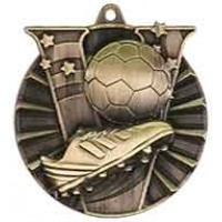 2 inch Soccer Victory Medal