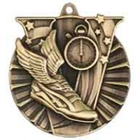 2 inch Track Victory Medal