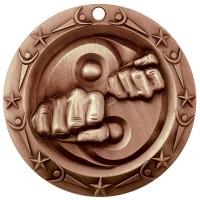 3'' World Class Martial Arts Medallion Bronze