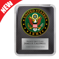 Army Hero Plaque