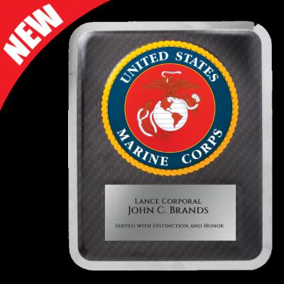 Marine Hero Plaque