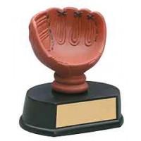 4 1/2 inch Color Baseball Glove Resin