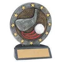 4 1/2 inch Golf All Star Resin