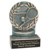 Tennis Resin Trophies