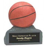 4 inch Color Basketball Resin