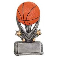 5 1/2 inch Basketball Varsity Sport Resin
