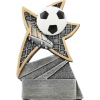 5 1/2 inch Soccer Jazz Star Resin