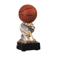5 3/4 inch Basketball Encore Resin