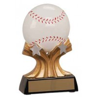 5 inch Baseball Shooting Star Resin