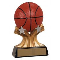 5 inch Basketball Shooting Star Resin