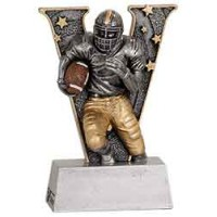 5 inch Football V Series Resin