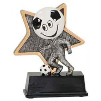 5 inch Soccer Little Pal Resin