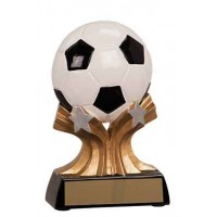 5 inch Soccer Shooting Star Resin