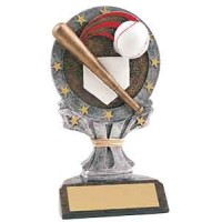 6 1/4 inch Baseball All Star Resin