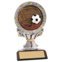 6 1/4 inch Soccer All Star Resin